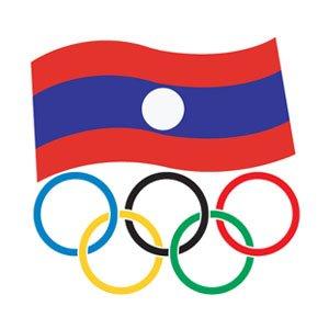 laos flag olympics