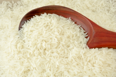 Rice On Spoon