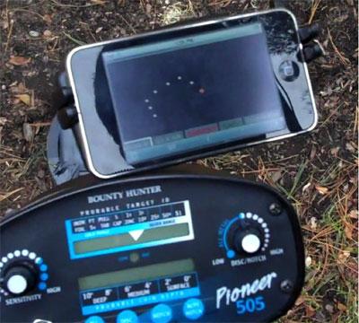 Smartphone Mine Detector