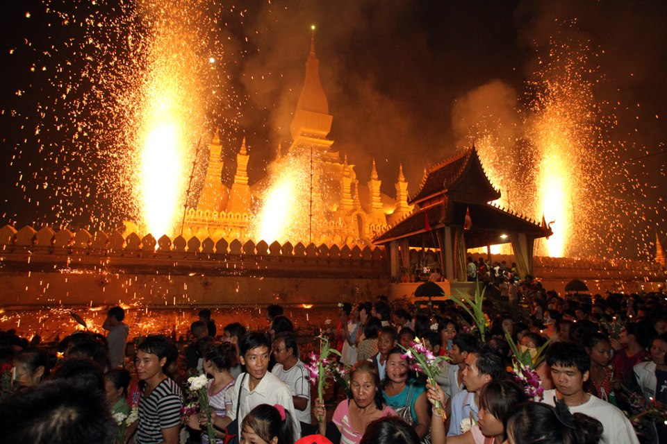 That Luang Festival 2012