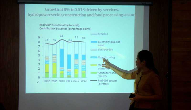 Laos Economy 8% Growth