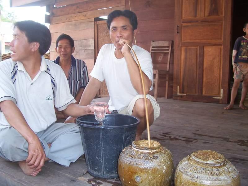 Laos Rice Whisky