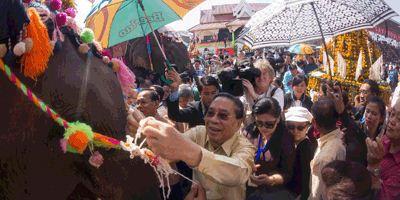 Elephant Festival Xayaboury