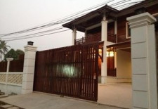(699) New, Bright House for Rent in Vientiane, Laos