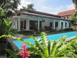 (456) Beautiful Renovated House for Rent managed by Work Live Laos at 12 Lao–Thai Road, Vientiane, Laos for 1300