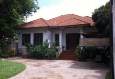 (556) Single Storey Home For Rent Near Vientiane International School