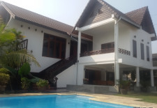 (708) Big house with a pool for rent in Vientiane, Laos