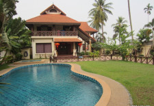 (94) Beautiful Lao Style Home For Rent