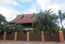 (231) Large House With Pool, Yard (Vientiane, Laos)