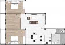 5. Deluxe Three floor plan