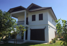 (831) Brand New Modern Rental House in Vientiane's Sisattanak District