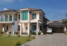 Big Modern House For Rent in Vientiane City Center